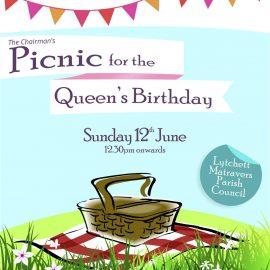 Queens Picnic poster (12th June)