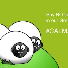CALM 2016 Say NO