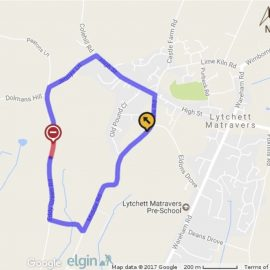 Proposed temporary road closure of Eddy Green Road