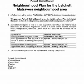 Notice of Neighbourhood Plan Referendum