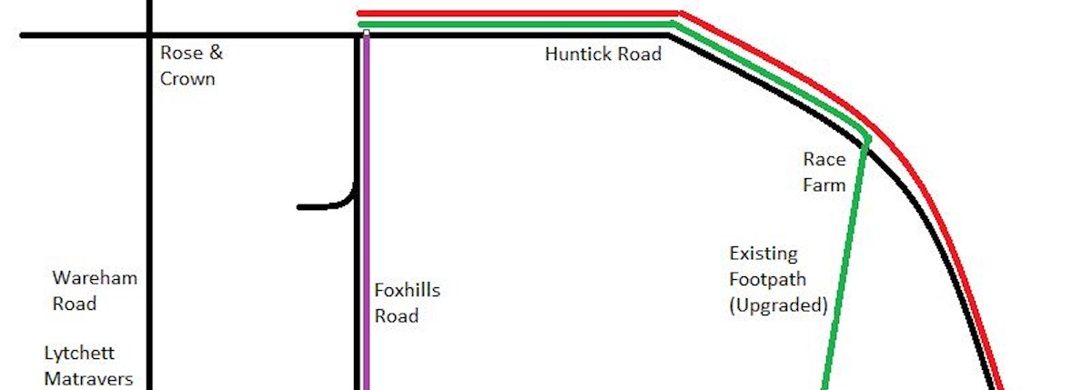 Huntick Cyclepath Survey