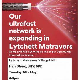 Virgin Media Ultrafast Community Event – 30th May