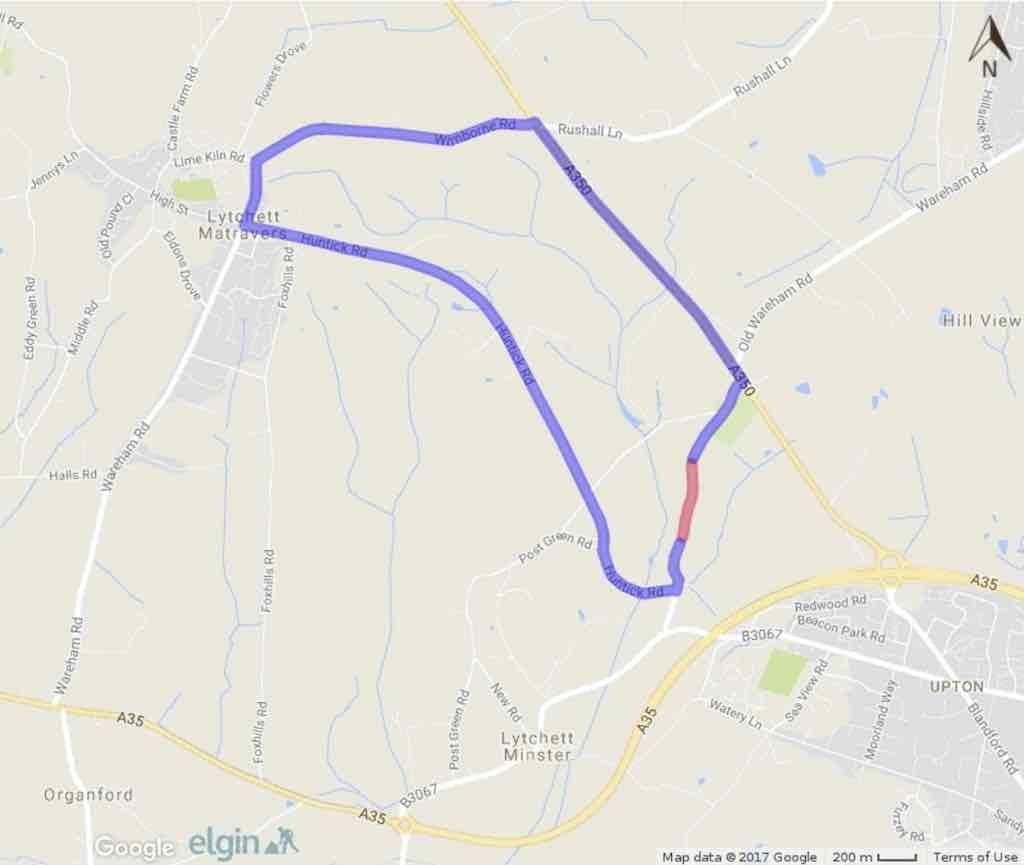 Randalls Hill Closure Sept17