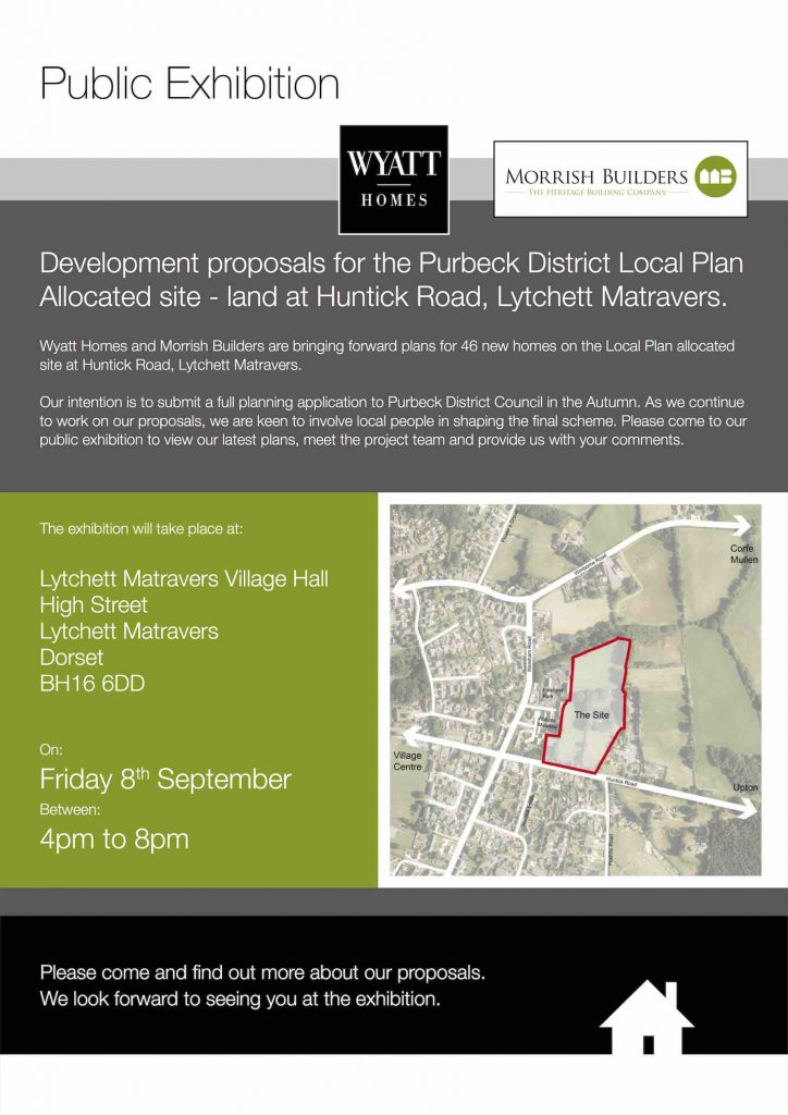 Huntick Estate Development Poster