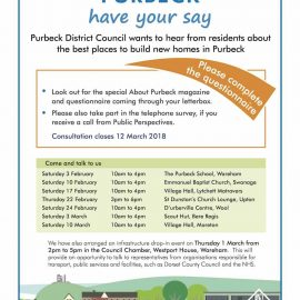 Purbeck Local Plan Poster