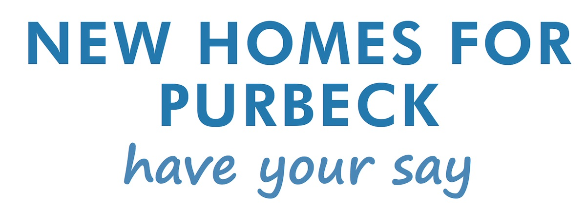 Each household should have received a questionnaire through the post entitled 'NEW HOMES FOR PURBECK have your say'.