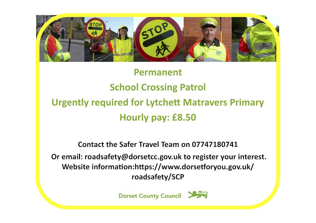 School Crossing Patrol needed