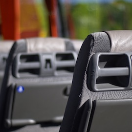 Decorative image of some school transport seats