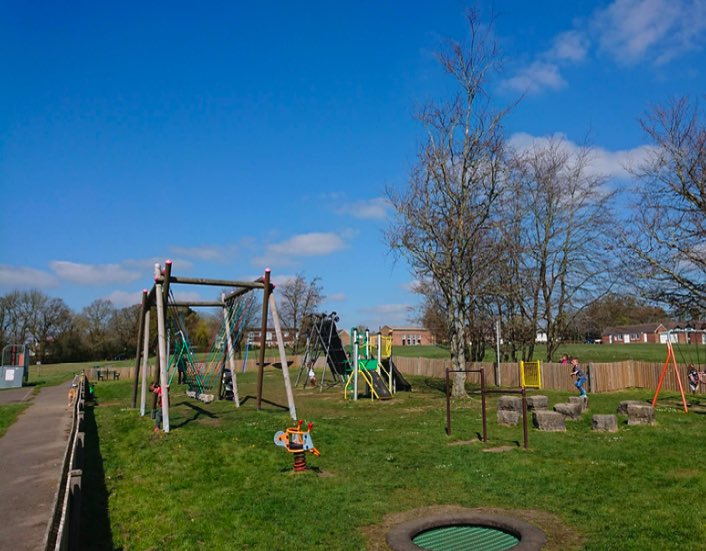 Photo of the Rocket Park playground