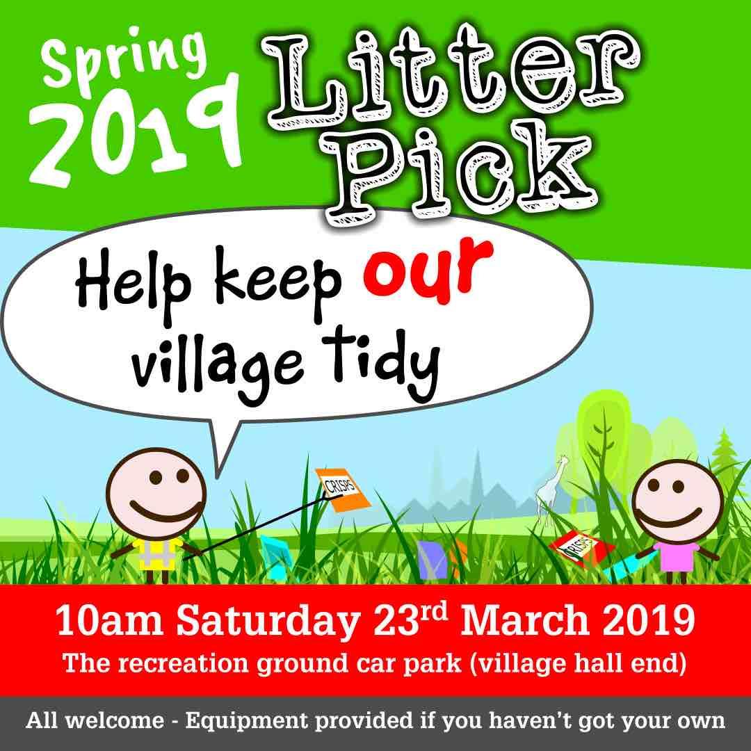 spring litter pick