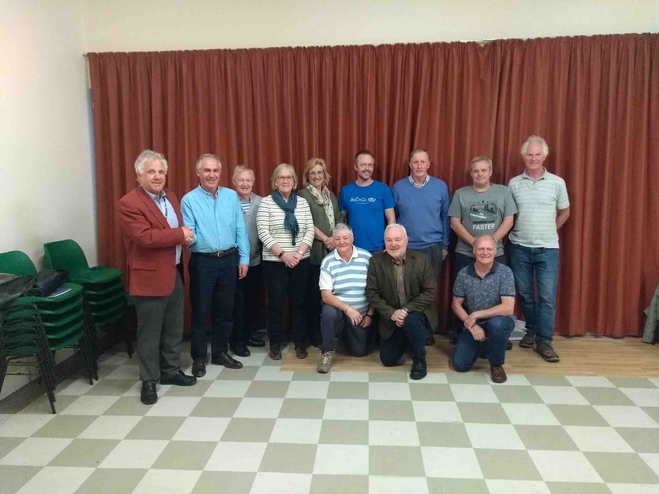 outgoing Lytchett Matravers parish council