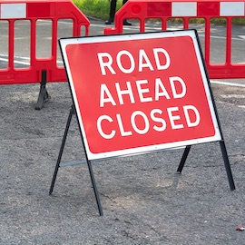 Closure of Poole Road in March 2020