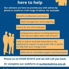 Purbeck Citizens Advice poster