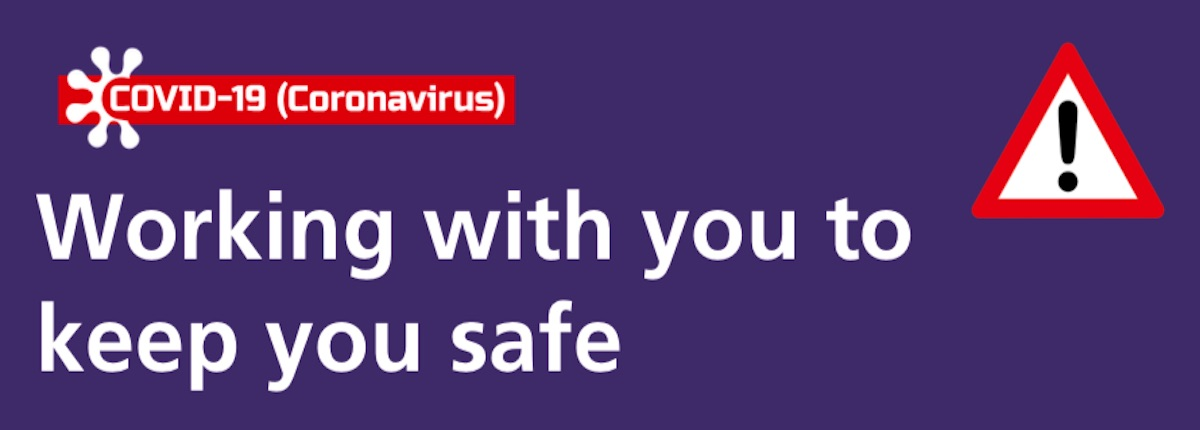 Working with you to keep you safe - Travel