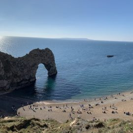 Photo of Durdle Door to represent Dorset's coast