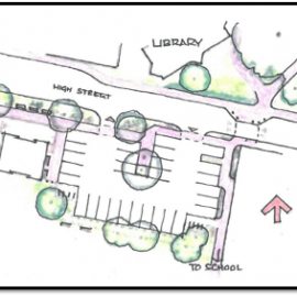 Image of plan for village centre