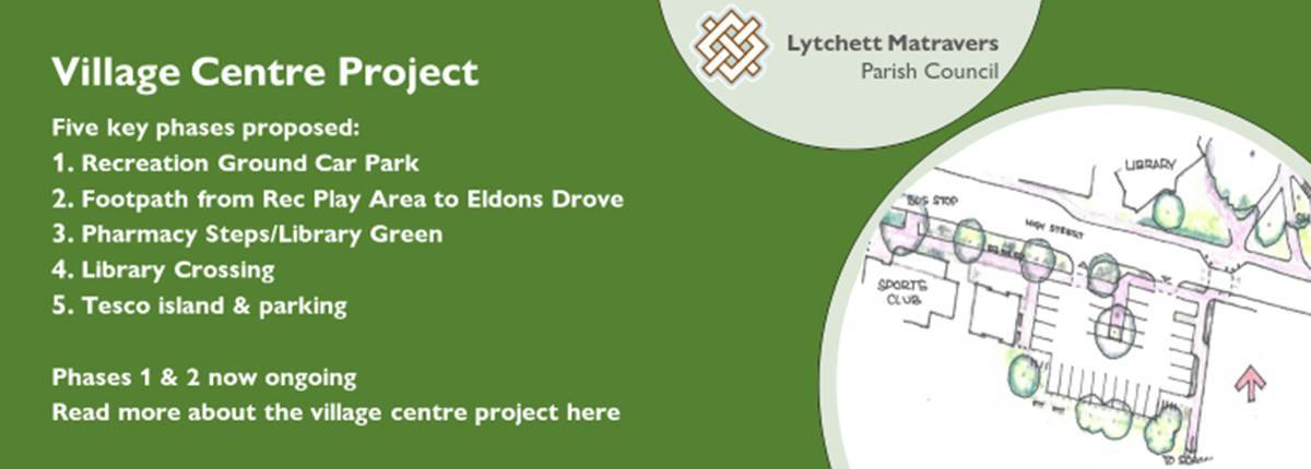 Banner image for village centre project for decorative purposes
