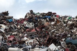 Decorative image of a scrap heap