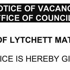Notice of Parish Councillor Vacancy (July 2021)