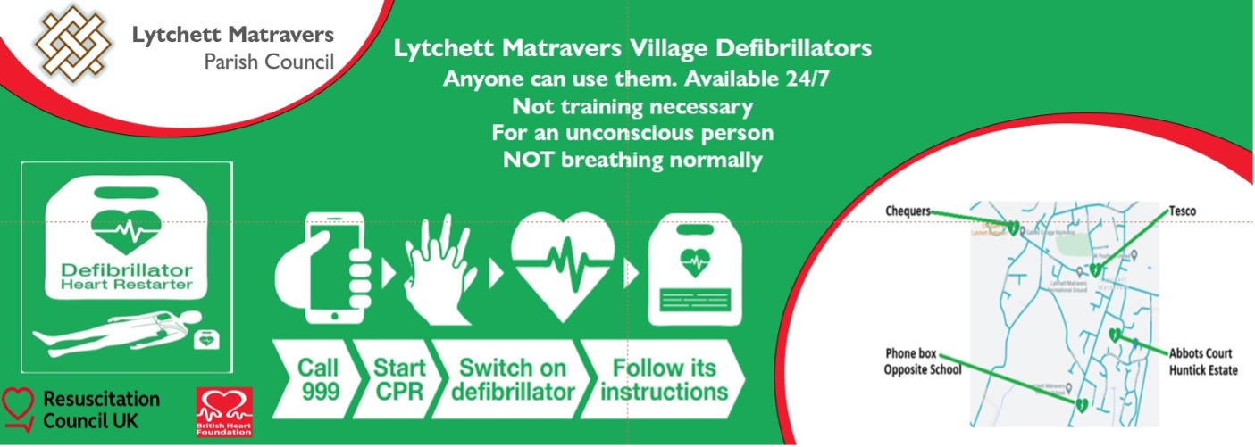 Image showing how to use a defibrillator